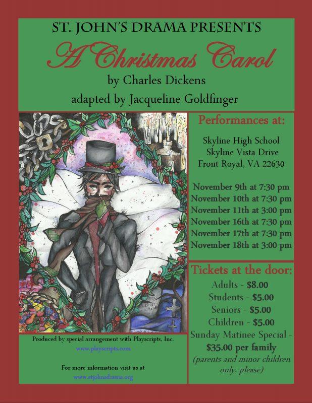 A Christmas Carol Poster.A Christmas Carol Poster Royal Examiner