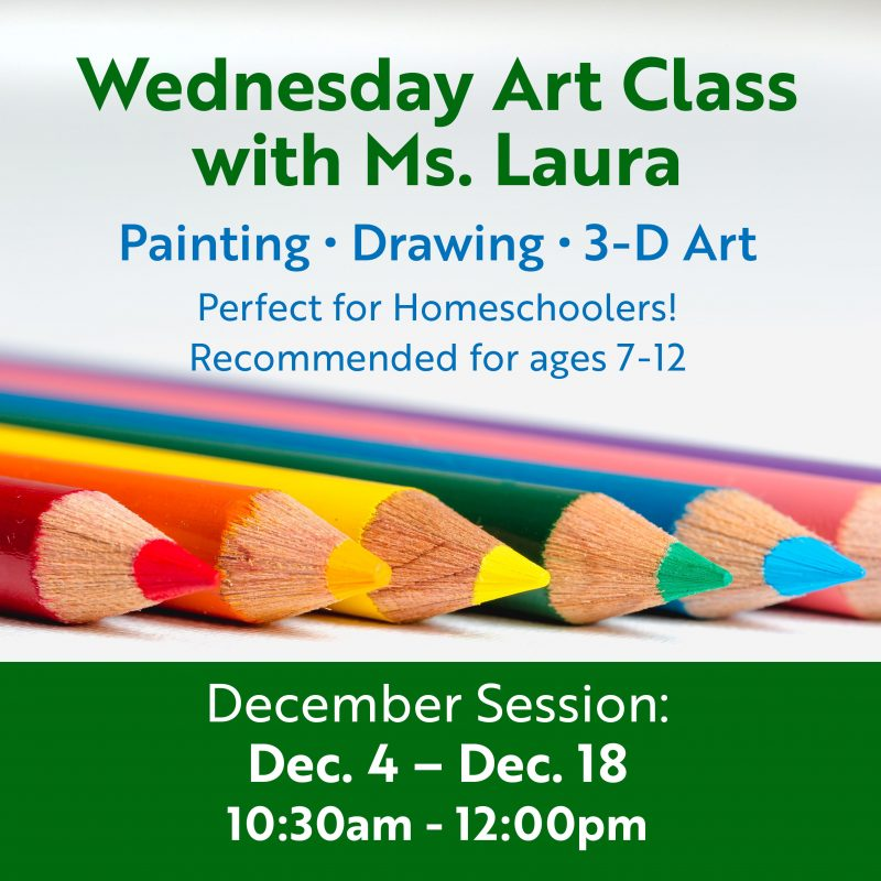 Wednesday Art Class with Ms  Laura: December Session | Royal